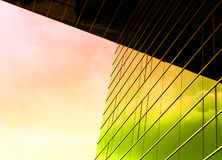 ζωηρόχρωμο γυαλί Στοκ εικόνα με δικαίωμα ελεύθερης χρήσης