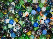 ζωηρόχρωμο γυαλί σφαιρών Στοκ φωτογραφίες με δικαίωμα ελεύθερης χρήσης