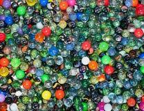 ζωηρόχρωμο γυαλί σφαιρών Στοκ Φωτογραφία