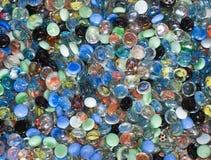 ζωηρόχρωμο γυαλί σφαιρών Στοκ εικόνες με δικαίωμα ελεύθερης χρήσης