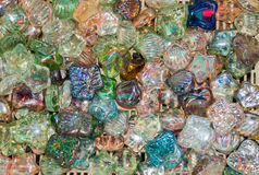 ζωηρόχρωμο γυαλί σφαιρών Στοκ Φωτογραφίες