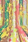 ζωηρόχρωμο δημιουργικό δάσος ανασκόπησης Στοκ εικόνες με δικαίωμα ελεύθερης χρήσης