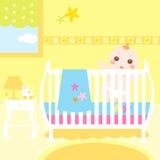 ζωηρόχρωμο δωμάτιο μωρών Στοκ Εικόνες