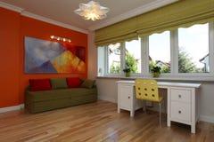 Ζωηρόχρωμο δωμάτιο Στοκ Φωτογραφία