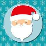 Ζωηρόχρωμο εικονίδιο Χαρούμενα Χριστούγεννας γραφικό Στοκ φωτογραφία με δικαίωμα ελεύθερης χρήσης