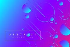 Ζωηρόχρωμο ελάχιστο γεωμετρικό υπόβαθρο Η κλίση διαμορφώνει τη σύνθεση Φουτουριστικές αφίσες σχεδίου επίσης corel σύρετε το διάνυ διανυσματική απεικόνιση