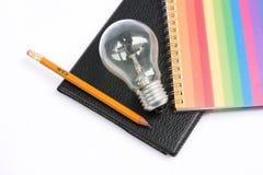 ζωηρόχρωμο ελαφρύ μολύβι &si Στοκ φωτογραφία με δικαίωμα ελεύθερης χρήσης