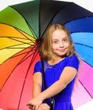 Ζωηρόχρωμο εξάρτημα για την εύθυμη διάθεση Θετική εποχή πτώσης παραμονής Τρόποι να λαμπρυθεί η διάθεση πτώσης σας Το παιδί κοριτσ στοκ φωτογραφίες με δικαίωμα ελεύθερης χρήσης