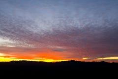 ζωηρόχρωμο ηλιοβασίλεμ&alph στοκ εικόνες με δικαίωμα ελεύθερης χρήσης