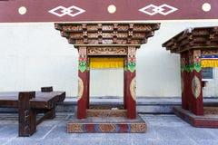 Ζωηρόχρωμο θιβετιανό σχέδιο Στοκ Εικόνες