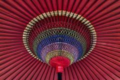 Ζωηρόχρωμο ιαπωνικό parasol Στοκ Εικόνα