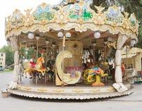 Ζωηρόχρωμο ιπποδρόμιο στο πάρκο στοκ φωτογραφία