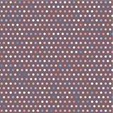 Ζωηρόχρωμο ιώδες γεωμετρικό σχέδιο με τα σημεία Στοκ Φωτογραφίες