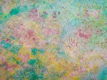 Ζωηρόχρωμο και διαμορφωμένο μαρμάρινο πάτωμα Στοκ εικόνες με δικαίωμα ελεύθερης χρήσης