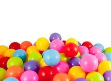 Ζωηρόχρωμο και μπαλόνι ποικιλίας Στοκ Εικόνες