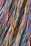 Ζωηρόχρωμο καλώδιο του υπολογιστή και του δικτύου Ίντερνετ Στοκ φωτογραφία με δικαίωμα ελεύθερης χρήσης