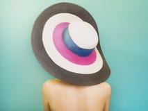 ζωηρόχρωμο καπέλο Στοκ εικόνα με δικαίωμα ελεύθερης χρήσης