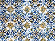 ζωηρόχρωμο κεραμίδι προτύπ Στοκ φωτογραφία με δικαίωμα ελεύθερης χρήσης