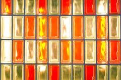 Ζωηρόχρωμο κιβώτιο γυαλιού Στοκ Φωτογραφίες