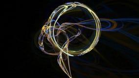 Ζωηρόχρωμο κοσμικό υπόβαθρο κινήσεων σχεδίων αφηρημένο διανυσματική απεικόνιση
