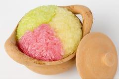 Ζωηρόχρωμο κολλώδες ρύζι Στοκ Εικόνες