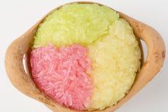 Ζωηρόχρωμο κολλώδες ρύζι Στοκ εικόνες με δικαίωμα ελεύθερης χρήσης