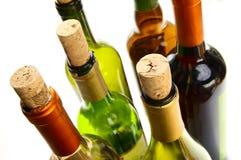 ζωηρόχρωμο κρασί μπουκαλιών Στοκ φωτογραφίες με δικαίωμα ελεύθερης χρήσης