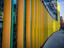 Ζωηρόχρωμο κτήριο στην πόλη του Κάμντεν, Λονδίνο Στοκ Φωτογραφία