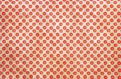 Ζωηρόχρωμο κόκκινο σχέδιο υποβάθρου μαργαριτών Στοκ εικόνες με δικαίωμα ελεύθερης χρήσης