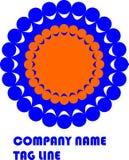 Ζωηρόχρωμο λογότυπο σχεδίου για την επιχείρηση απεικόνιση αποθεμάτων