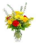 ζωηρόχρωμο λουλούδι ανθοδεσμών ρύθμισης Στοκ Εικόνα