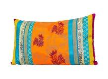 ζωηρόχρωμο μαξιλάρι Στοκ Φωτογραφία