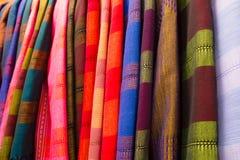 Ζωηρόχρωμο μετάξι Στοκ εικόνες με δικαίωμα ελεύθερης χρήσης