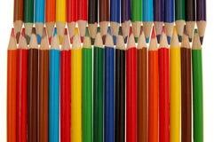 ζωηρόχρωμο μολύβι Στοκ Εικόνα