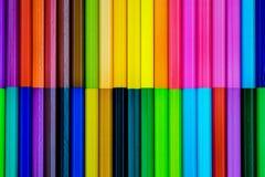 ζωηρόχρωμο μολύβι χρώματο&sig Στοκ φωτογραφίες με δικαίωμα ελεύθερης χρήσης