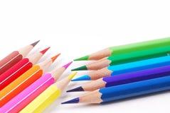 Ζωηρόχρωμο μολύβι Στοκ φωτογραφίες με δικαίωμα ελεύθερης χρήσης