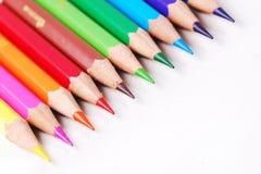 Ζωηρόχρωμο μολύβι Στοκ Φωτογραφία