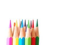 ζωηρόχρωμο μολύβι Στοκ φωτογραφία με δικαίωμα ελεύθερης χρήσης