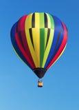 Ζωηρόχρωμο μπαλόνι ζεστού αέρα Στοκ Φωτογραφία