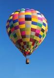 Ζωηρόχρωμο μπαλόνι ζεστού αέρα Στοκ Εικόνες