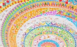 ζωηρόχρωμο μωσαϊκό κύκλων &alph στοκ εικόνα με δικαίωμα ελεύθερης χρήσης