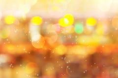 Ζωηρόχρωμο να λάμψει και πυράκτωσης ελαφρύ φανταχτερό γλυκό bokeh Στοκ Φωτογραφία