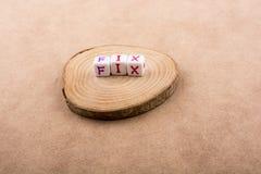 Ζωηρόχρωμο ξύλινο κομμάτι ina κύβων επιστολών αλφάβητου Στοκ Φωτογραφίες