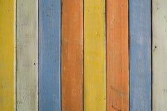 Ζωηρόχρωμο ξύλινο σχέδιο Στοκ Εικόνες