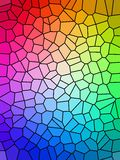 ζωηρόχρωμο ουράνιο τόξο Στοκ φωτογραφίες με δικαίωμα ελεύθερης χρήσης