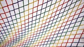 Ζωηρόχρωμο παγωμένο πλέγμα Στοκ εικόνα με δικαίωμα ελεύθερης χρήσης
