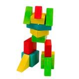 ζωηρόχρωμο παιχνίδι ρομπότ Στοκ εικόνα με δικαίωμα ελεύθερης χρήσης