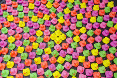 Ζωηρόχρωμο παιχνίδι παπιών Στοκ Εικόνα