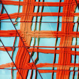 ζωηρόχρωμο παράθυρο ανταν Στοκ φωτογραφίες με δικαίωμα ελεύθερης χρήσης