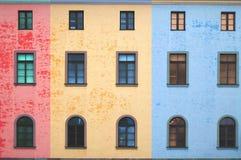 ζωηρόχρωμο παράθυρο ύφου&si Στοκ Εικόνες